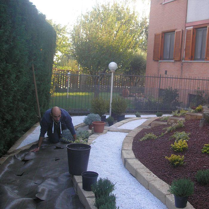 creazione giardini su misura a Milano