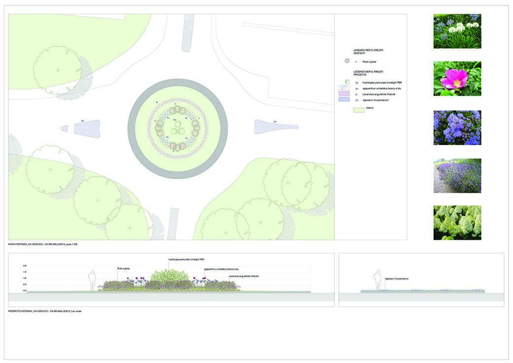 Creazione giardini pubblici Milano
